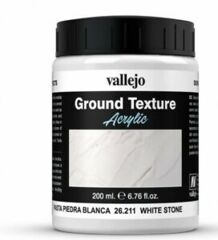 Stone Textures - White Stone Paste 200ml VAL26211