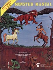 Advanced Dungeons & Dragons - Monster Manual