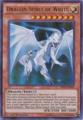Dragon Spirit of White - SHVI-EN018 - Ultra Rare - 1st Edition
