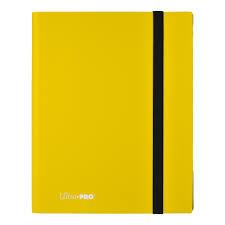 9-Pocket Lemon Yellow PRO-Binder - Eclipse