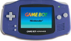 Game Boy Advance Purple