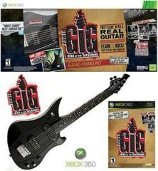 Power Gig Guitar - Game + Cable (Xbox 360)