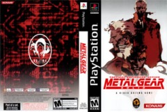 Metal Gear Solid (DVD Case from MGS Collection)