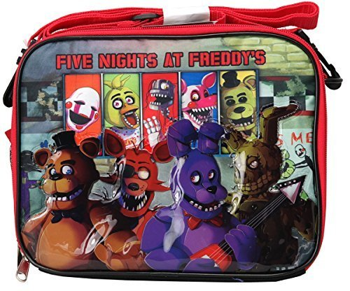Red - All Character (Five Nights at Freddy s) - Lunch Bag - Apparel ... 65434794f0