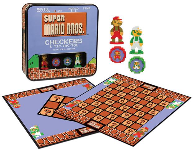 Super Mario Checkers & Tic Tac Toe - Collectors Edition