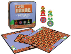 Super Mario Checkers & Tic Tac Toe - Collector's Edition