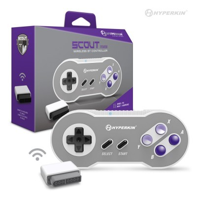 (Hyperkin) Scout Premium BT Controller for SNES/ PC/ Mac/ Android