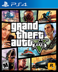 Grand Theft Auto - V (Playstation 4) - PS4