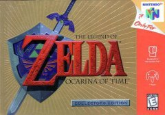 Legend of Zelda Ocarina of Time Collectors Edition (Gold)
