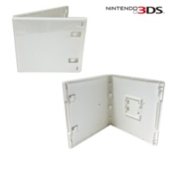 Replacement Game Case for 3DS (White)