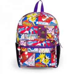 Black - Purple - Evee Evolution - Pokemon (Backpack)