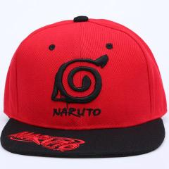 Black - Red - Naruto (Hat)