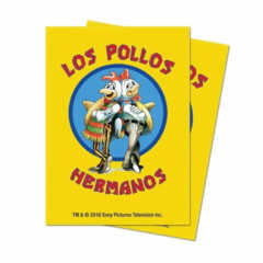 Los Pollos Hermanos 100 ct - Ultra Pro Standard Sleeves (Breaking Bad)