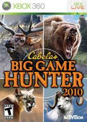 Cabela's Big Game Hunter 2010 (Xbox 360)