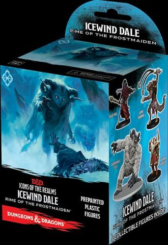 Icons of the Realms - Icewind Dale Rime of the Frostmaiden - Prepainted Plastic Figures