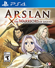 Arslan - The Warriors of Legend (Playstation 4) - PS4