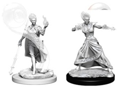 Nolzur's Marvelous Unpainted Miniatures - Fire Genasi Female Wizard