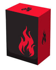Red - Iconic Fire Deck Box (Legion)