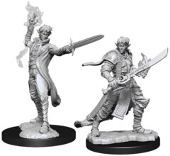 Pathfinder Battles Unpainted Minis - Male Elf Magus (Magic User)