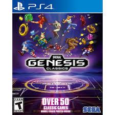 Sega Genesis Classics (playstation 4)  - PS4