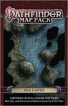 Pathfinder RPG (Map Pack) - Sea Caves