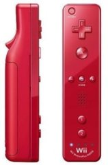 Nintendo Wii Remote - Red (MotionPlus)