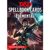 Dungeons And Dragons RPG (Updated Spellbook Cards) - Elemental Deck