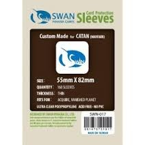 Ultra Clear - (Swan) Sleeves 55mm X 82mm - 160ct