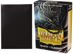 Black Classic - Japanese Boxed Sleeves (Dragon Shield) - 60 ct