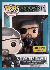 #211 - Deathstroke - Unmasked (Arrow) - HTE