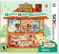 Animal Crossing - Happy Home Designer (Nintendo 3DS)