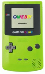 Game Boy Color Green