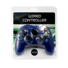 XBox Wired Controller - Blue