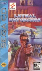 Lethal Enforcers - Game Only (Sega CD)