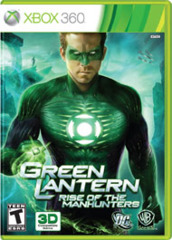 Green Lantern - Rise of the Manhunters (Xbox 360)