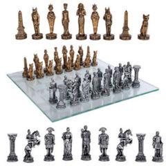 Romans VS Egyptians (Chess Set)