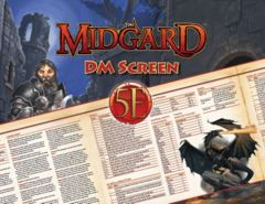 Midgard DM Screen For 5th Edition