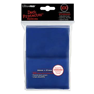 Blue (Ultra Pro) - Standard Sleeves - 100ct