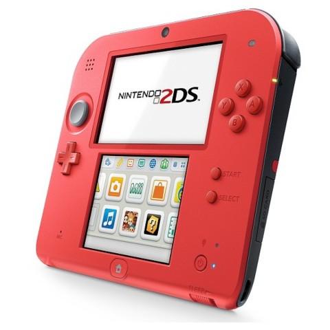 Nintendo 2DS System Red/Black
