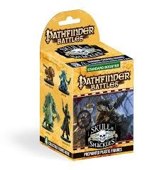 Pathfinder Battles Skull & Shackles Standard Booster