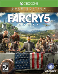 Far Cry 5 Steelbook Gold Edition - XboxOne