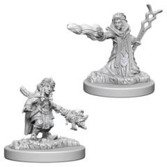 Gnome Female Wizard - Dungeons & Dragons (Nolzur's Marvelous Miniatures) - Unpainted