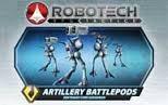 Robotech RPG Tactics Artillery Battlepods Zentraedi Core Squadron