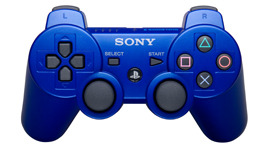 PlayStation 3 (PS3) Controller in Blue Wireless DualShock 3