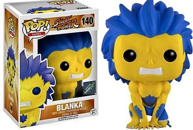 #140 - Blanka (Yellow) (Street Fighter) - ThinkGeek