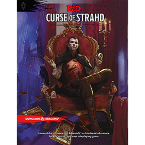 Dungeons & Dragons RPG - Curse of Strahd (5th Edition)