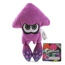Purple Inkling Squid (Splatoon)
