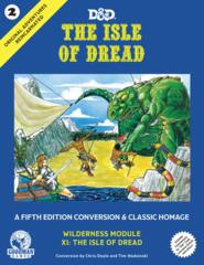 Dungeons & Dragons RPG - The Isle Of Dread (5th Edition)