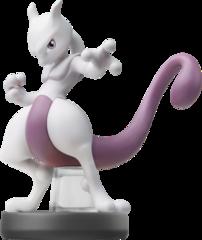 Mewtwo - Super Smash Bros. - Amiibo (Nintendo)