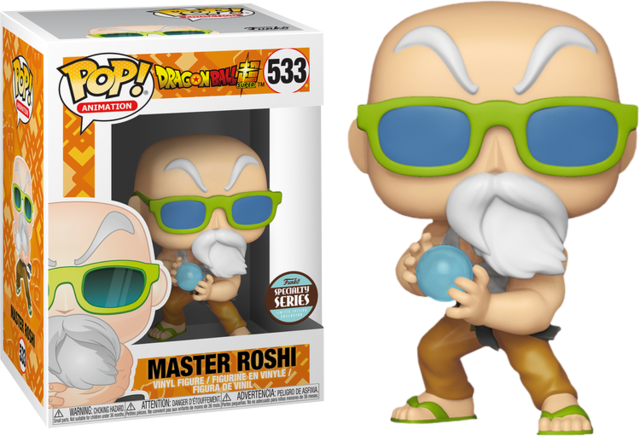3ae634846b 533 - Master Roshi (Dragonball Super) - Toys + Collectables » Funko ...
